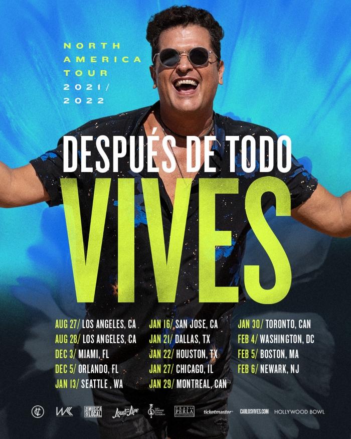Carlos Vives Tour 2021-2022